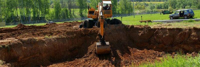 Разработка грунта