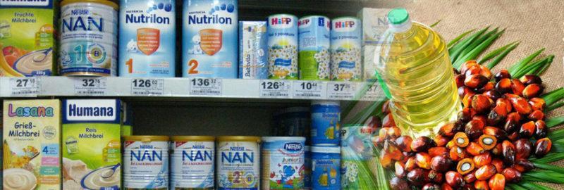 пальмовое масло в детских товарах